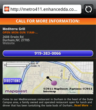 Add a business to MetroPCS